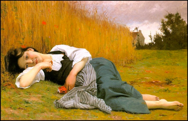William-Adolphe Bouguereau - L'estate
