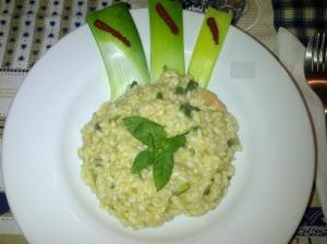 Risotto Zucchine & Mazzancolle