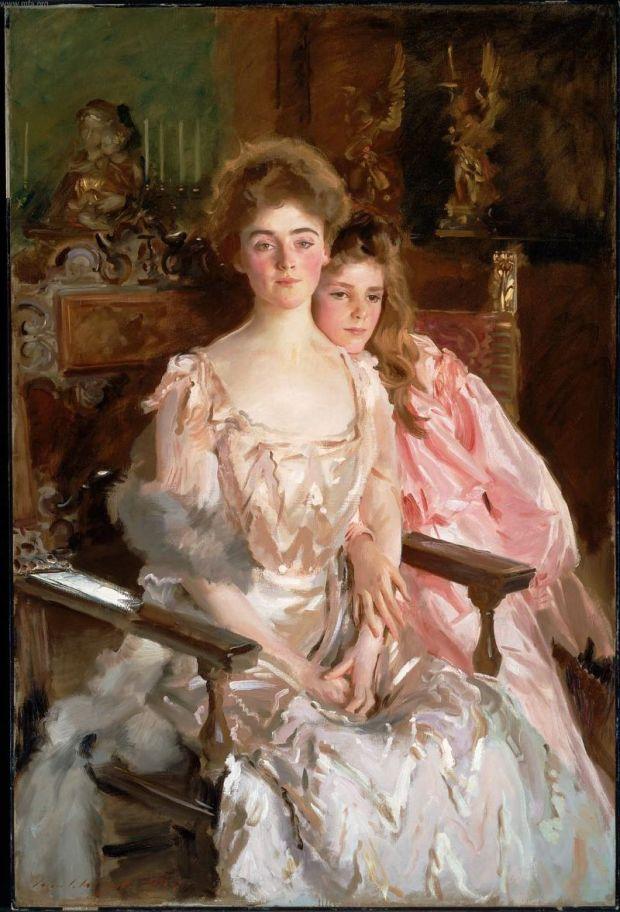 la signora Fiske Warren e sau figlia Rachel